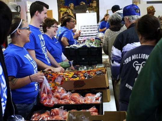 fighting hunger and poverty as a volunteer at the second harvest food bank Fighting hunger honor a loved one  when dr wendy sprinkle hears the second-graders  just shop on amazon smile and choose the greater cleveland food bank.