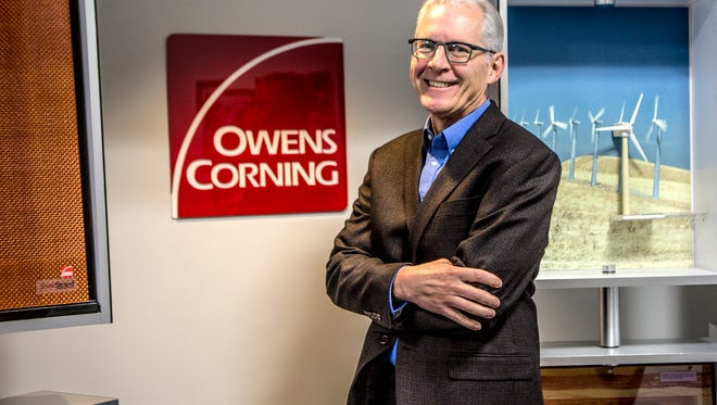 Frank O'Brien-Bernini, the the vice president and chief sustainability officer of Owens Corning, poses for a portrait.