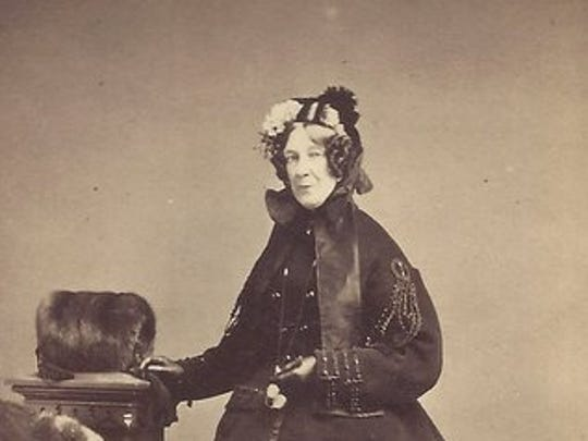 Isabel Cassat helped organize the Ladies' Aid Society in New York during the Civil War.