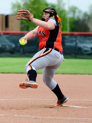 Gibsonburg's Aubrey Fleming was recognized player of the year in the TAAC.