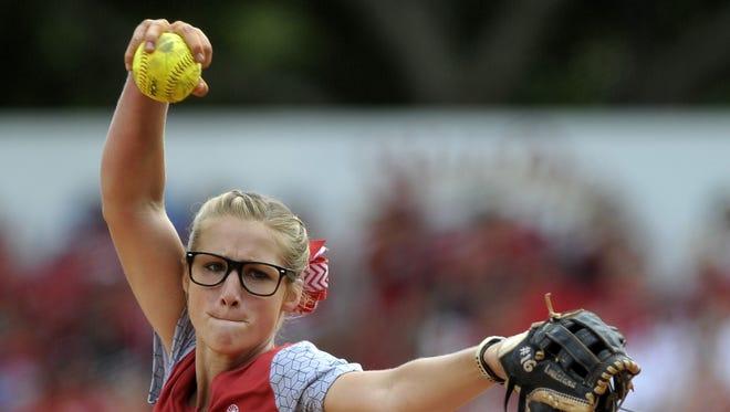Christina Hamilton has been among the stars for the Louisiana-Lafayette softball team.