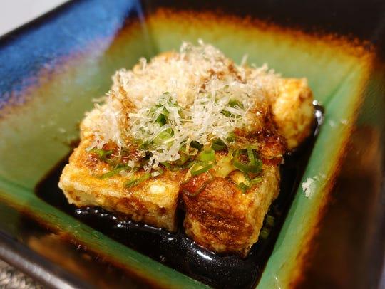 Agedashi tofu at Sushi Nakano in Phoenix, AZ.