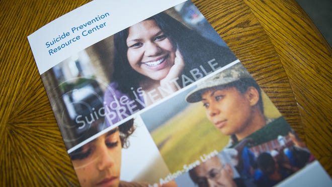 A pamphlet on suicide prevention provided by the Southern New Mexico Suicide Prevention and Survivor Support Coalition.
