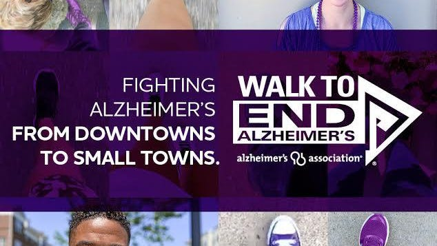 The annual Walk to End Alzheimer's will take place Saturday, Sept. 19.