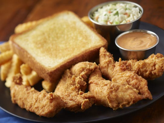 Chicken fingers at Zaxby's.