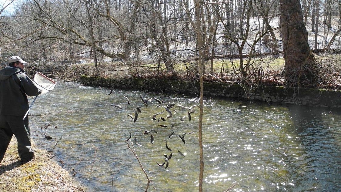 Fishing trout season opens april 9 for Trout fishing season