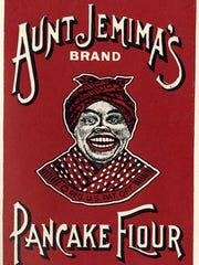 Advertisement for Aunt Jemima's Pancake Flour that was used in a trademark case in 1915.