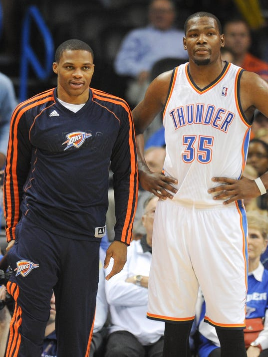 Kevin Durant And Russell Westbrook Best Friends Russell westbrook injury?