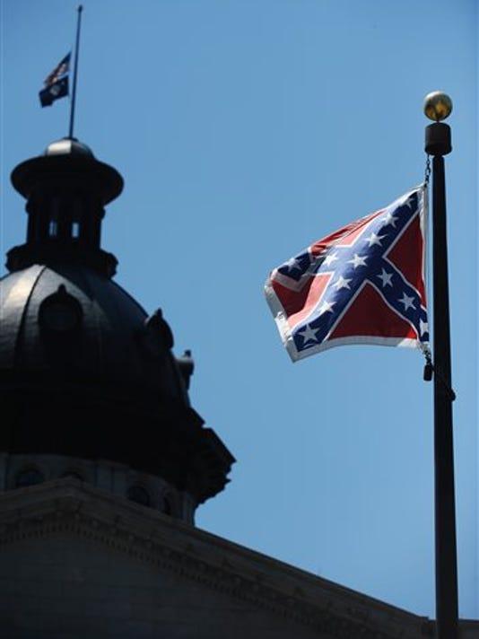 Charleston Shooting Confederate Flag