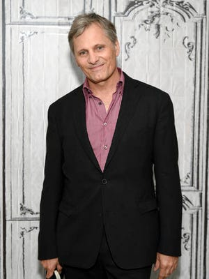 """FILE - In this July 11, 2016 file photo, actor Viggo Mortensen participates in AOL's BUILD Speaker Series to discuss the film """"Captain Fantastic"""" in New York. Mortensen will return to his hometown of Watertown, N.Y., to kick off a film festival on Jan. 27 with a screening of his 2016 movie """"Captain Fantastic."""" (Photo by Evan Agostini/Invision/AP, File)"""