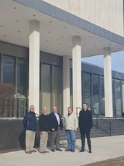 From left, Tim Keating, Dave Altenau, Rick Margerison