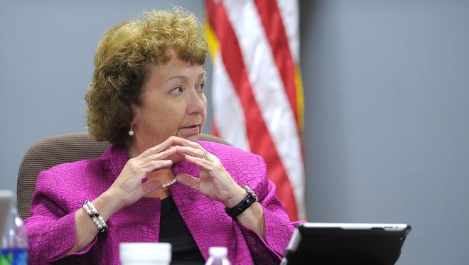 Metro school board member Anna Shepherd