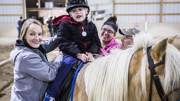 Horses, hope and healing: How this organization is empowering children