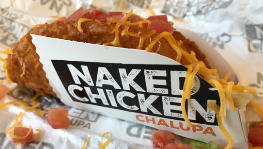 The Naked Chicken Chapula, new at Taco Bell.