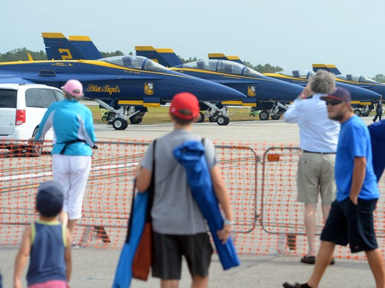 The 2018 Vero Beach Air Show wrapped up performances Sunday, April 22, 2018 at the Vero Beach Regional Airport. Patrons were treated to aerobatic skills from world-renowned pilots, static aircraft on the tarmac to tour and a final performance by the U.S. Navy Blue Angels.