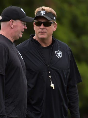 Jack Del Rio believes the Raiders can make a run at