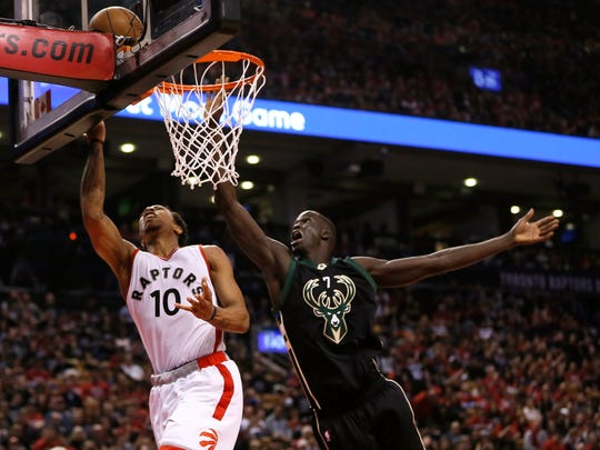 Thon Maker's length helped the Bucks' defense in the second half of the season.