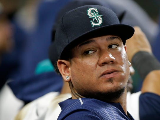 Seattle Mariners pitcher Felix Hernandez