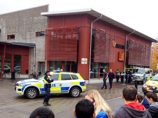 EPA SWEDEN SCHOOL ATTACK CLJ CRIME SWE