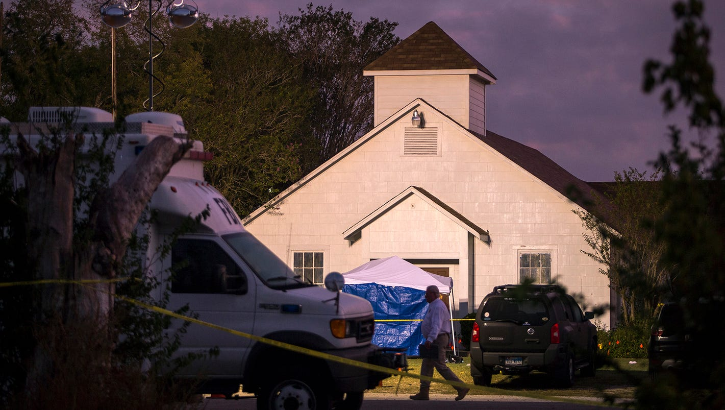 Texas shooting: Church's videos show the peace before the violence