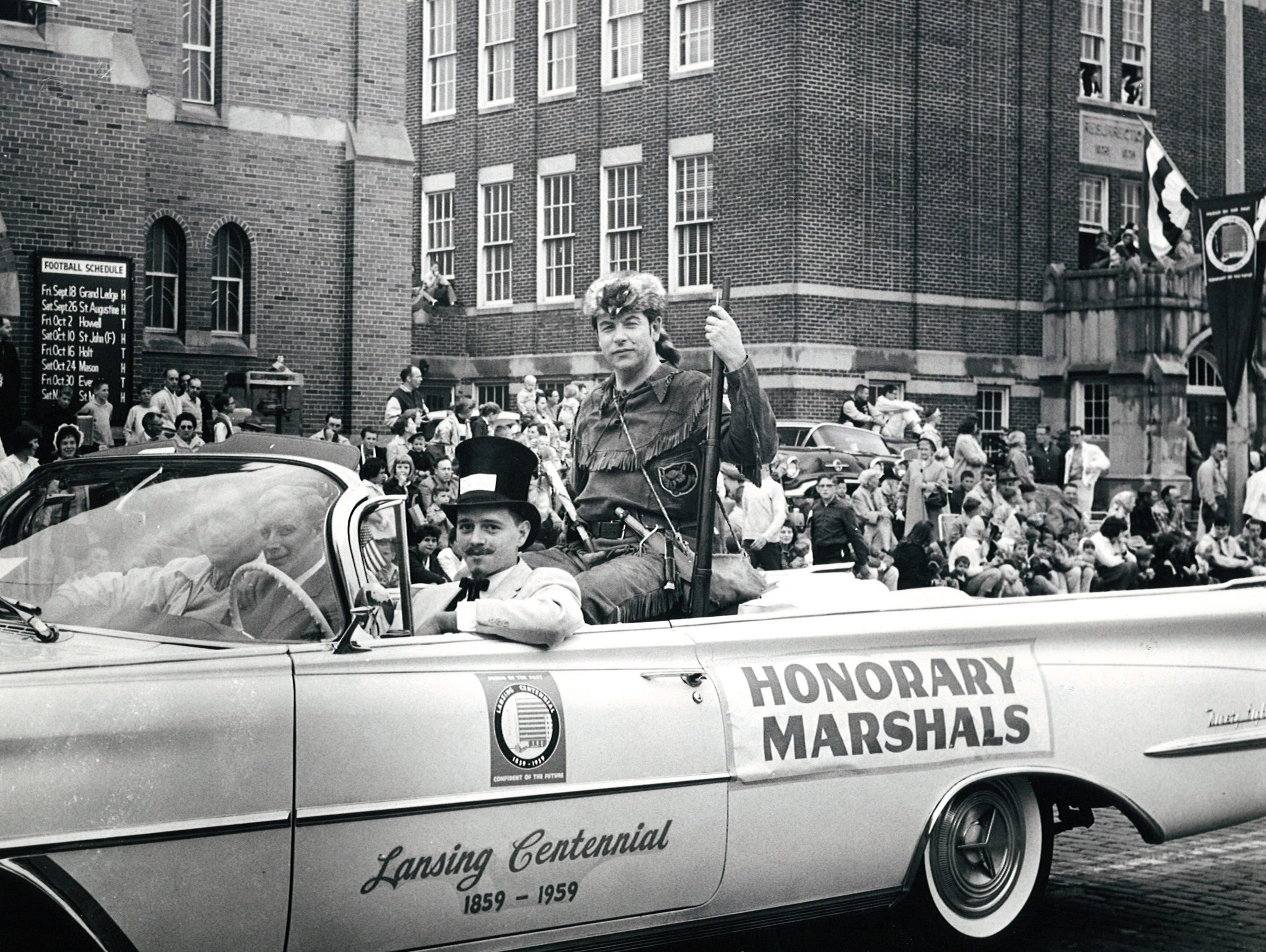 1959 : Lansing's Centennial / History of Transportation Parade