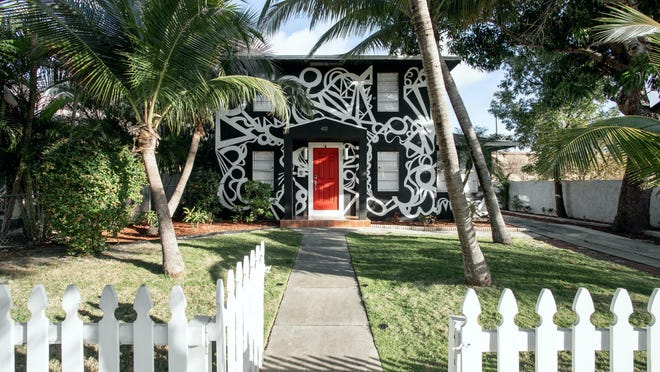 Something different, at 411 El Vedado in West Palm Beach.