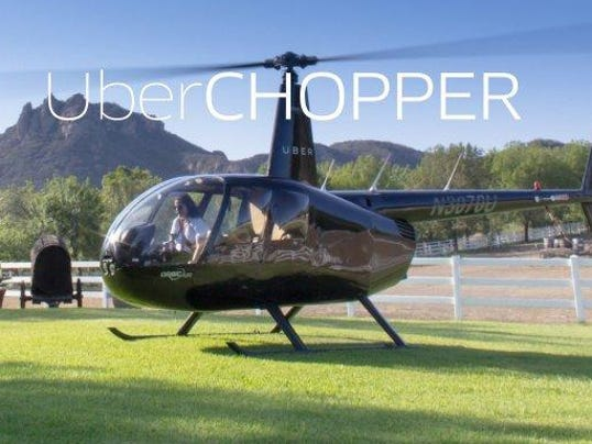 Uber Offers Helicopter Rides To Bonnaroo For 1500