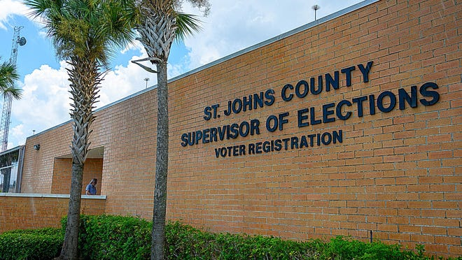 The Supervisor of Elections Office in St. Augustine is one of eight locations in St. Johns County where registered voters can vote early for the Aug. 18 primary election. Early voting will take place daily from 9 a.m. to 6 p.m. through Aug. 15.