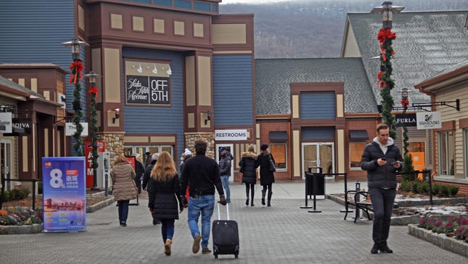 Orange County has the second-highest revenue from sales tax of the seven counties in the region mainly because of the Woodbury Common Premium Outlets.
