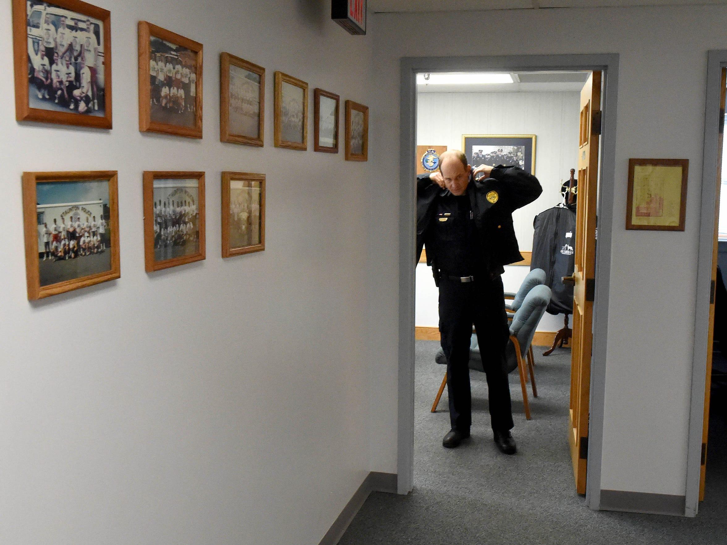 Chief Jim Williams of the Staunton Police Department