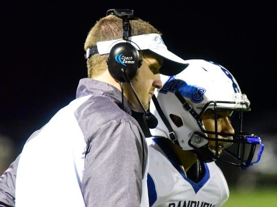Danbury's Keith Mora was recognized coach of the year in Division VII in the Northwest District.