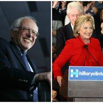Photos: Hillary Clinton caucus party