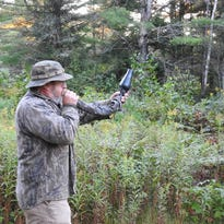 Stone: Bugling at dawn for nearby elk