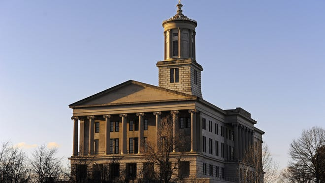 The Tennessee state capitol.