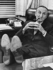 Senate Majority Leader Mike Mansfield, in 1971. The Democrat's key to success was his treatment of his colleagues