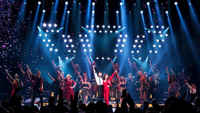"""""""On Your Feet!"""", a musical that tells the story of groundbreaking, record-making couple Emilio and Gloria Estefan, is at the Auditorium Theatre Tuesday through Sunday, Feb. 6 to 11."""