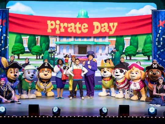 "Talk about going to the dogs! Bring the pre-schoolers along when the mutt crew hits the stage live t0 solve a caper for ""Paw Patrol Live! The Great Pirate Adventure"" at 10 a.m. and 2 p.m. Saturday and Sunday at The Tucker Civic Center. Ticket prices range for $22 to $127 for the VIP treatment. Any child over 1 must have a ticket. Visit www.tuckerciviccenter.com."