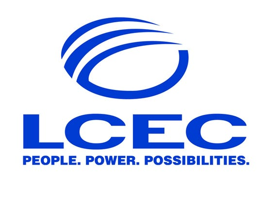 Lee County Electric Cooperative. LCEC logo.