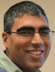 Sujay Kaushal, an associate professor of geology at