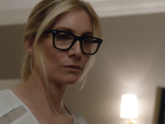 "Elizabeth Mitchell plays Senator Roan in ""The Purge:"