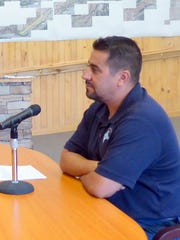 Isaac Garcia, Regional Wastewater Treatment Plant manager,