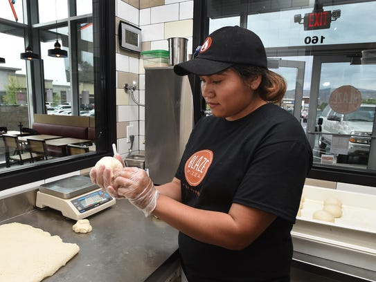 Images from the new Blaze Pizza that opens in Reno