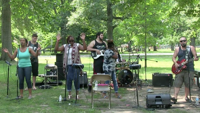 """In response to the recent shootings in Dallas and Baton Rouge, and the rising racial tensions in our communities, Oasis Church, a Central Jersey contemporary church, invites the surrounding community at 11 a.m. Sunday to its """"Takin' IT to the PARK"""" Big Top Tent Church service and free picnic party concert in the Parkside Grove in Cedar Brook Park in Plainfield."""