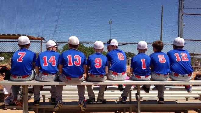 The Mountain Expos 11 and under baseball team.