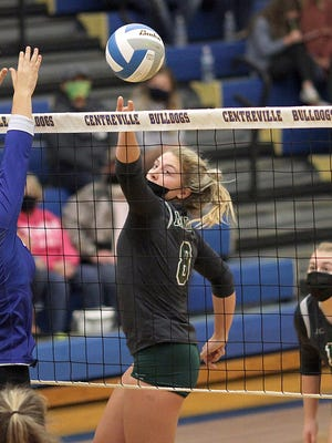 Anna Smith of Mendon earned her third straight First Team All-State honors for this past season.