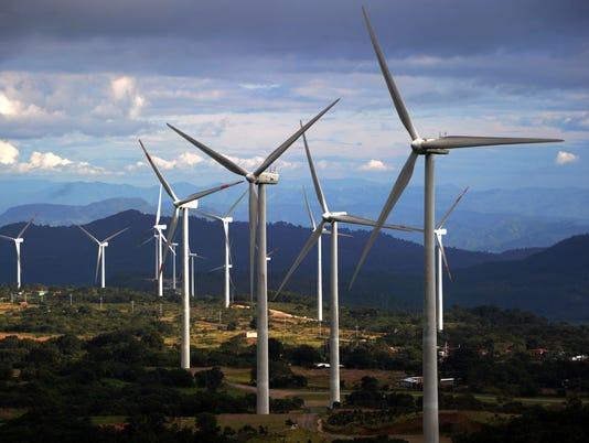 HONDURAS-ENERGY-WINDFARM