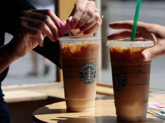 Iced Coffee de Starbucks.