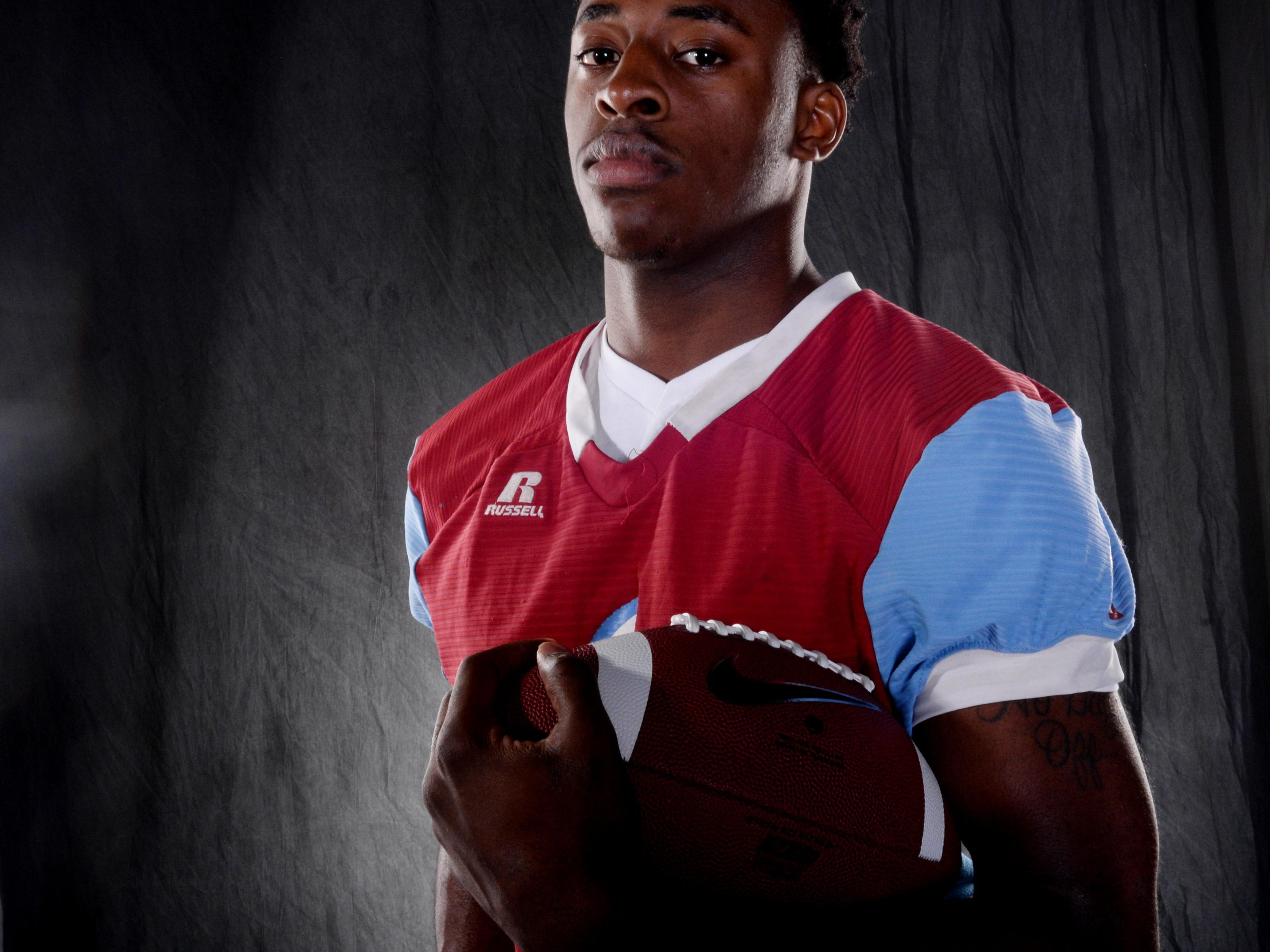 All-Area Defensive Player of the Year Zikerrion Baker