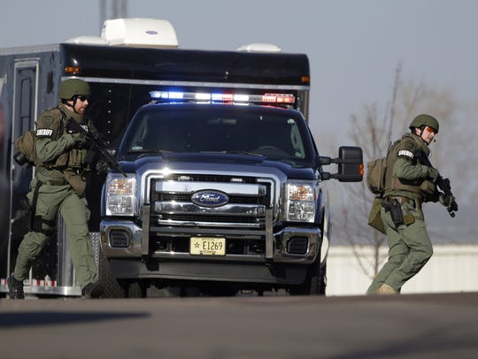 More than 70 officers responded Dec. 5 to the hostage