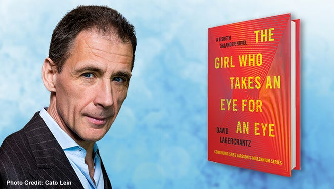 Promo image for #BookmarkThis with David Lagercrantz